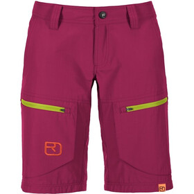 Ortovox W's Vintage Cargo Shorts (MI) Dark Very Berry